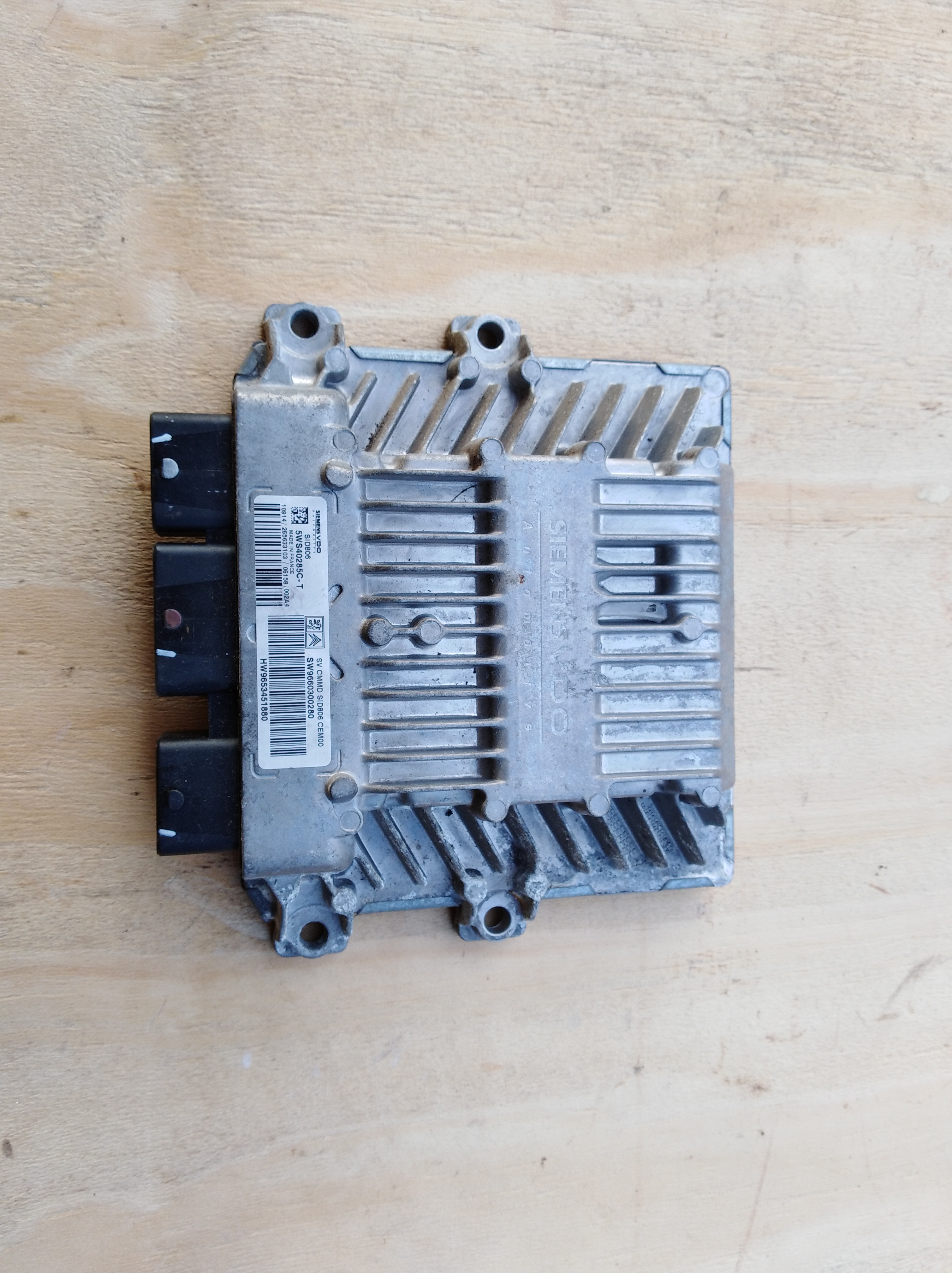 Centralina Motore Ecu Peugeot Citroen 1 4 Hdi