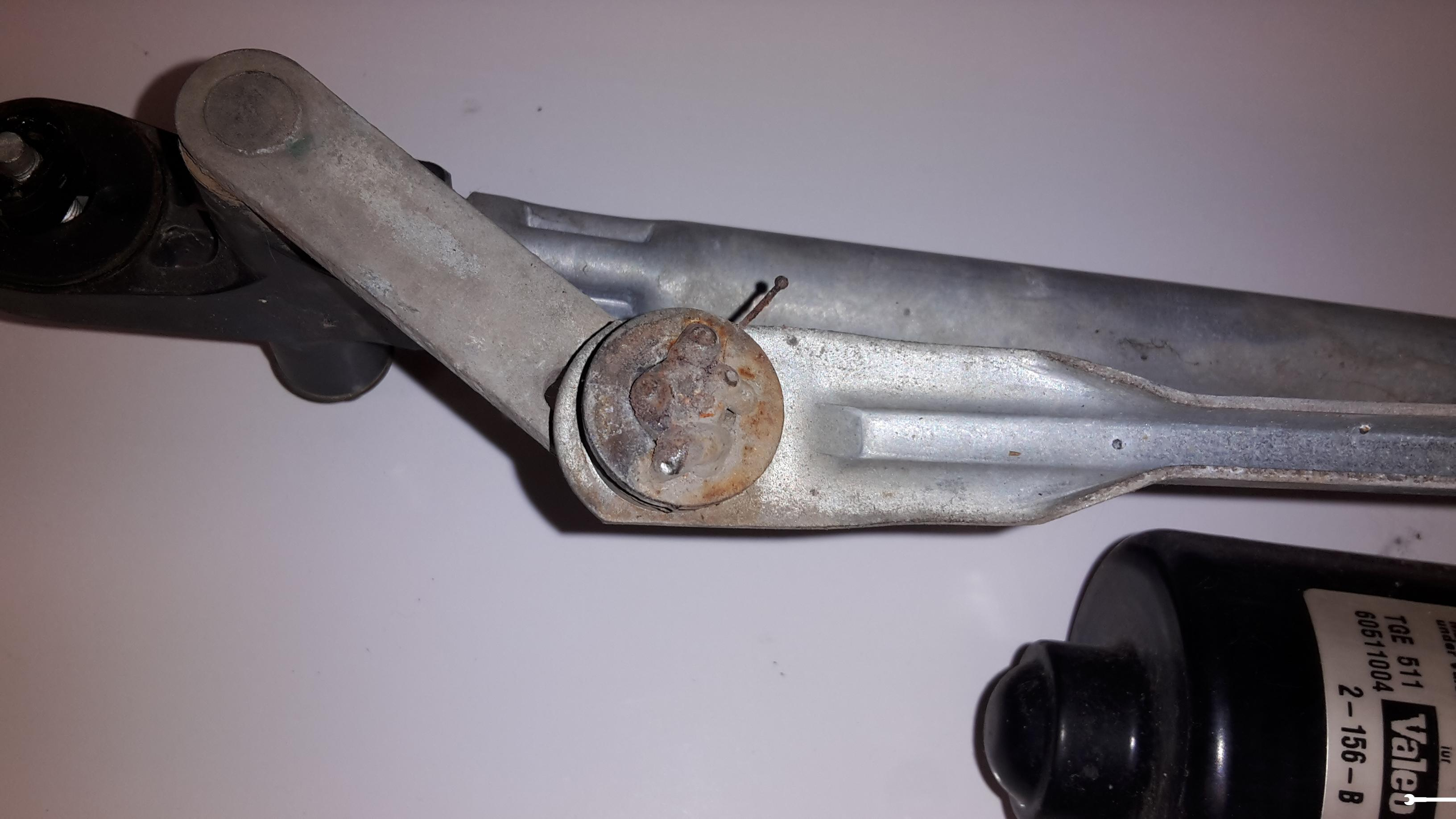Motorino Tergicristallo Anteriore Fiat Punto 2 188 Ricambi Usati