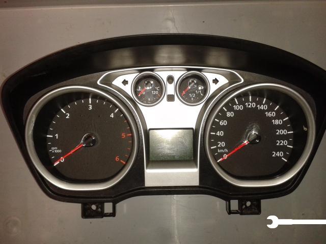 Strumentazione Quadro Strumenti Contachilometri Ford Focus 08 11 Tdci